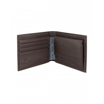 Brown Pheasant Real Leather Wallet #LW-06