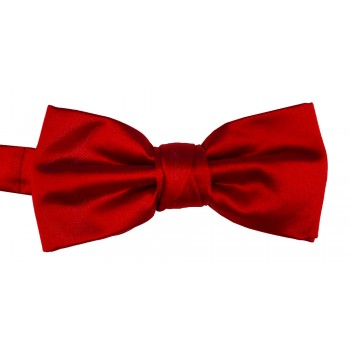 Red Weft Satin Bow Tie #ROBB1888/3
