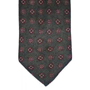 Grey Saxony Tie #T4013/1