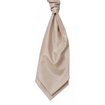 Champagne Self Tie Shantung Cravat #WCS1866/5