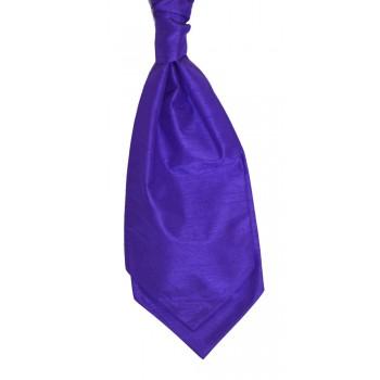 Violet Self Tie Shantung Cravat #WCS1867/6