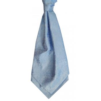 Blue Stately Paisley Cravat #WCR1910/2
