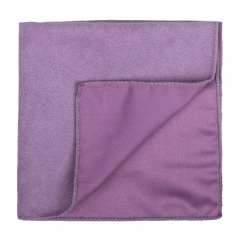 Dusky Orchid Suede Pocket Square #AB-TPH1006/3