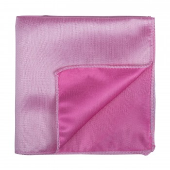 Candy Pink Shantung Pocket Square #AB-TPH1005/16