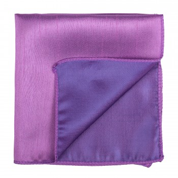 Sheer Lilac Shantung Pocket Square #AB-TPH1005/10