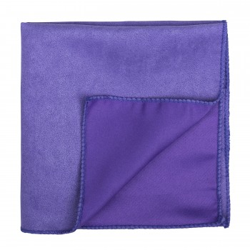 Royal Lilac Suede Pocket Square #AB-TPH1006/15