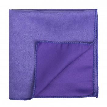 Royal Lilac Suede Pocket Square #AB-TPH1006/15