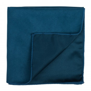 Deep Teal Suede Pocket Square #AB-TPH1006/10