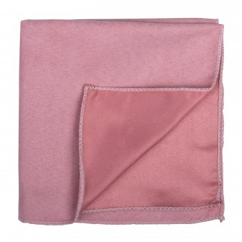 Coral Almond Suede Pocket Square #AB-TPH1006/8