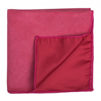 Paradise Pink Suede Pocket Square #AB-TPH1006/6