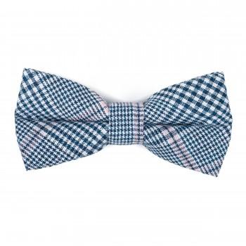 Dutch Blue Check Bow Tie #AB-BB1007/5