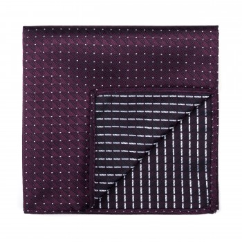 Wine Fine Polka Dot Pocket Square #AB-TPH1017/3