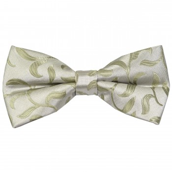 Emerald Green Vintage Vine Wedding Bow Tie #AB-BB1004/6