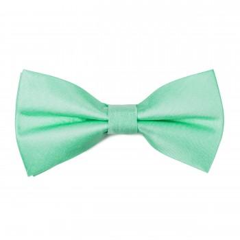 Green Ash Shantung Bow Tie #AB-BB1005/15