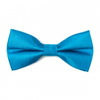 Crystal Teal Shantung Bow Tie #AB-BB1005/2