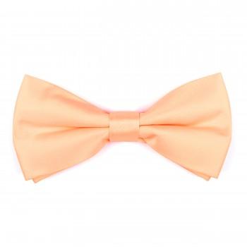 Peach Flax Bow Tie #AB-BB1009/18