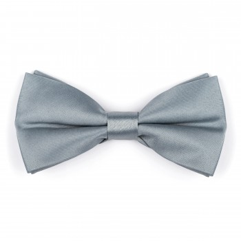 Silver Pumice Stone Bow Tie #AB-BB1009/20