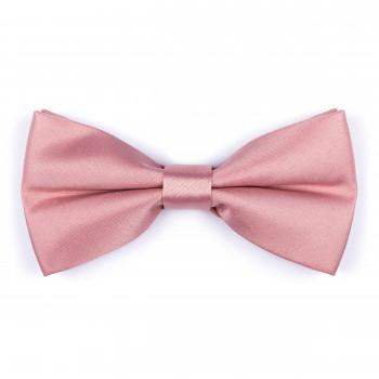 Rose Pink Sun Kiss Bow Tie #AB-BB1009/40