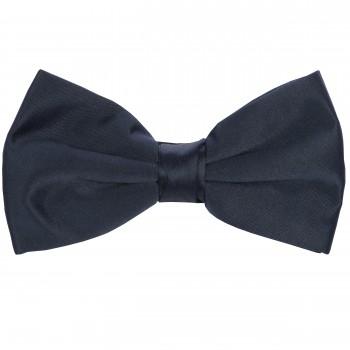 Navy Blue Satin Bow Tie #BB1847/3