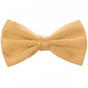 Gold Satin Bow Tie #BB1863/4