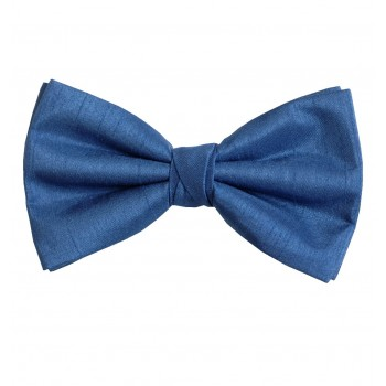 Airforce Blue Shantung Wedding Bow Tie #BB1865/5