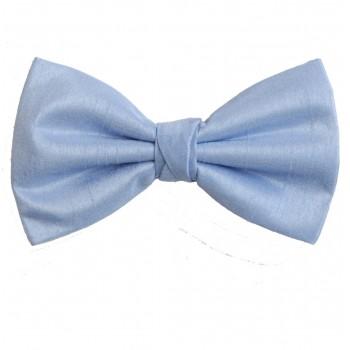 Sky Blue Shantung Wedding Bow Tie #BB1866/6