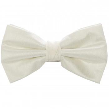 Ivory Shantung Wedding Bow Tie #BB1867/1