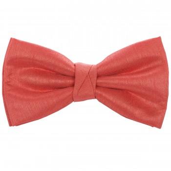 Coral Shantung Wedding Bow Tie #BB1867A/5