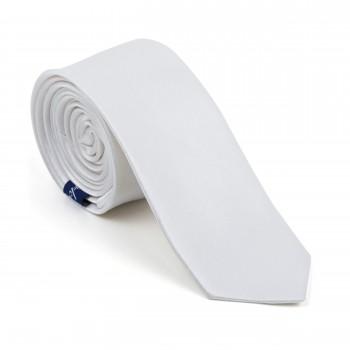 Ivory Shantung Slim Tie #AB-C1005/22