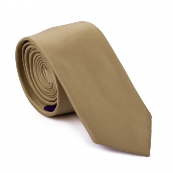 Bronze Straw Slim Tie #AB-C1009/12