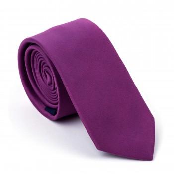 Red Violet Slim Tie #AB-C1009/16