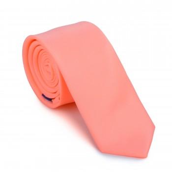 Peach Cobbler Slim Tie #AB-C1009/29