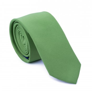 Sap Green Slim Tie #AB-C1009/30