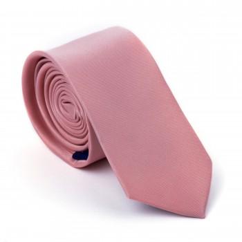 Rose Pink Sun Kiss Slim Tie #AB-C1009/40