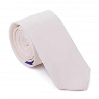 Pearled Ivory Slim Tie #AB-C1009/43