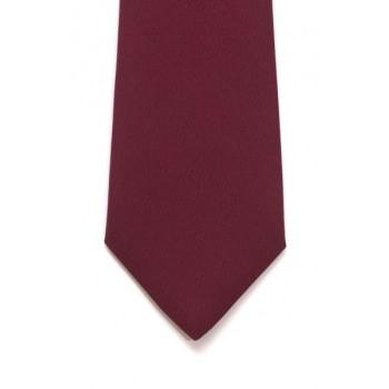 Wine Slim Panama Tie #C1808/1