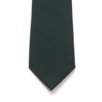 Bottle Green Slim Panama Tie #C1808/4