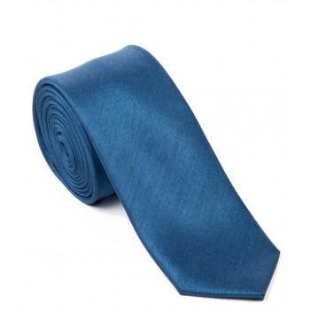 Airforce Blue Skinny Shantung Wedding Tie #C1865/5