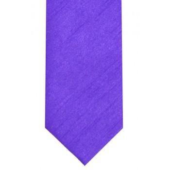 Violet Slim Shantung Wedding Tie #C1867/6