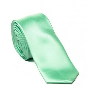 Mint Satin Tie #T1887/6