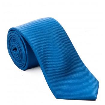 Plain Royal Blue Silk Tie #S5009/7