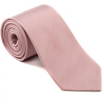 Pink Shantung Silk Tie ((S5016/5))