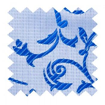 Blue Swirl Leaf Swatch #AB-SWA1000/18