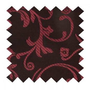 Burgundy on Black Swirl Leaf Swatch #AB-SWA1000/1