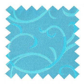Turquoise Modern Scroll Swatch #AB-SWA1002/2