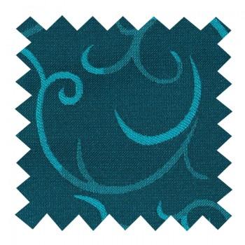 Teal Modern Scroll Swatch #AB-SWA1002/5
