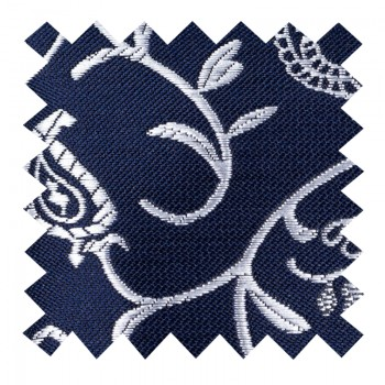Moonlight Navy Budding Paisley Swatch #AB-SWA1003/7