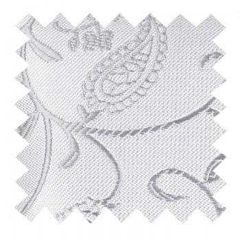 Silver Budding Paisley Swatch #AB-SWA1003/8