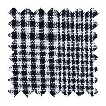 Licorice Black Check Swatch #AB-SWA1007/1