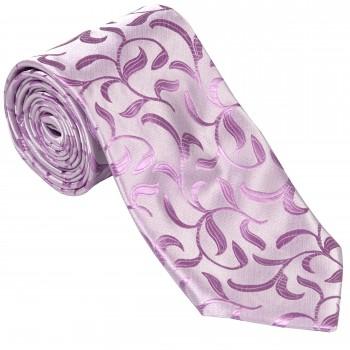 Lilac Vintage Vine Wedding Tie #AB-T1004/1